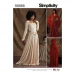 Misses`/ Miss Petite knit Costumes, Simplicity Pattern #S8866