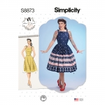 Naiste kleit Gertie Misses`ilt, Simplicity Pattern #S8873