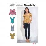 Naiste topid, Simplicity Pattern #S8880