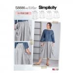 Naiste seelikud, Simplicity Pattern #S8886