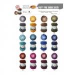 Sujuva värviüleminekuga lõng Puffy Fine Ombre Batik, Alize