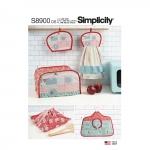Köögiaksessuaarid, Simplicity Pattern #S8900