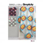 Tepitud kotid, Simplicity Pattern #S8902