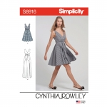 Naiste kleidid, Simplicity Pattern #S8916