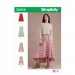 Naiste hõlmikseelikud, Simplicity Pattern #S8958
