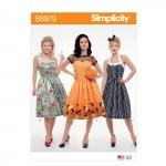 Naiste klassikaline Halloween kostüüm, Simplicity Pattern #S8979