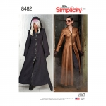 Naiste kostüüm-mantlid, Simplicity Pattern #8482