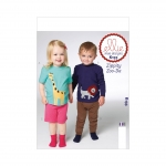 Toddlers` Top, Shorts and Pants, Kwik Sew K0133