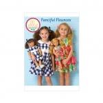 Children`s/Girls`/Dolls` Dresses, Kwik Sew K0193