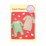 Infants` Gathered Gown and Wrap-Front Jumpsuit, Kwik Sew K0226