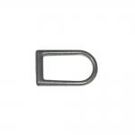 D-rõngas, D-aas, valatud poolrõngas 13 mm x 9 mm rihmale laiuses kuni 5 mm