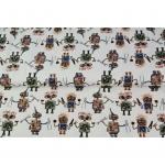 Puuvillane elastaaniga trikookangas, Stenzo 2020, 15269