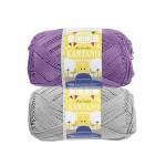 Пряжа для вязания из 100% хлопока Cotton Mercerized, Novita