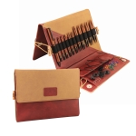 Lühikeste vahetatavate otsikutega puidust ringvarraste spetsiaalkomplekt Ginger Special, KnitPro 31282
