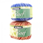 Paelataoline õrn puuvillasisaldusega lõng Reef / Reef Yarn / Patons (UK)