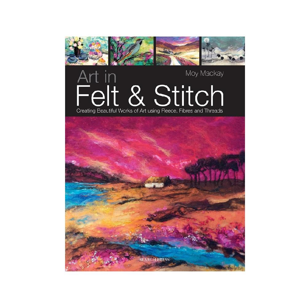 "Raamat ""Art in Felt & Stitch"""