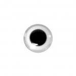 Silmakujuline nööp-helmes, pikuti läbistatud auguga 11mm/19L