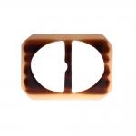Muovista liikkuva solki, hihnan kiristin, nauhalukko 62x45 mm, sopii hihnaan leveydella 35 mm