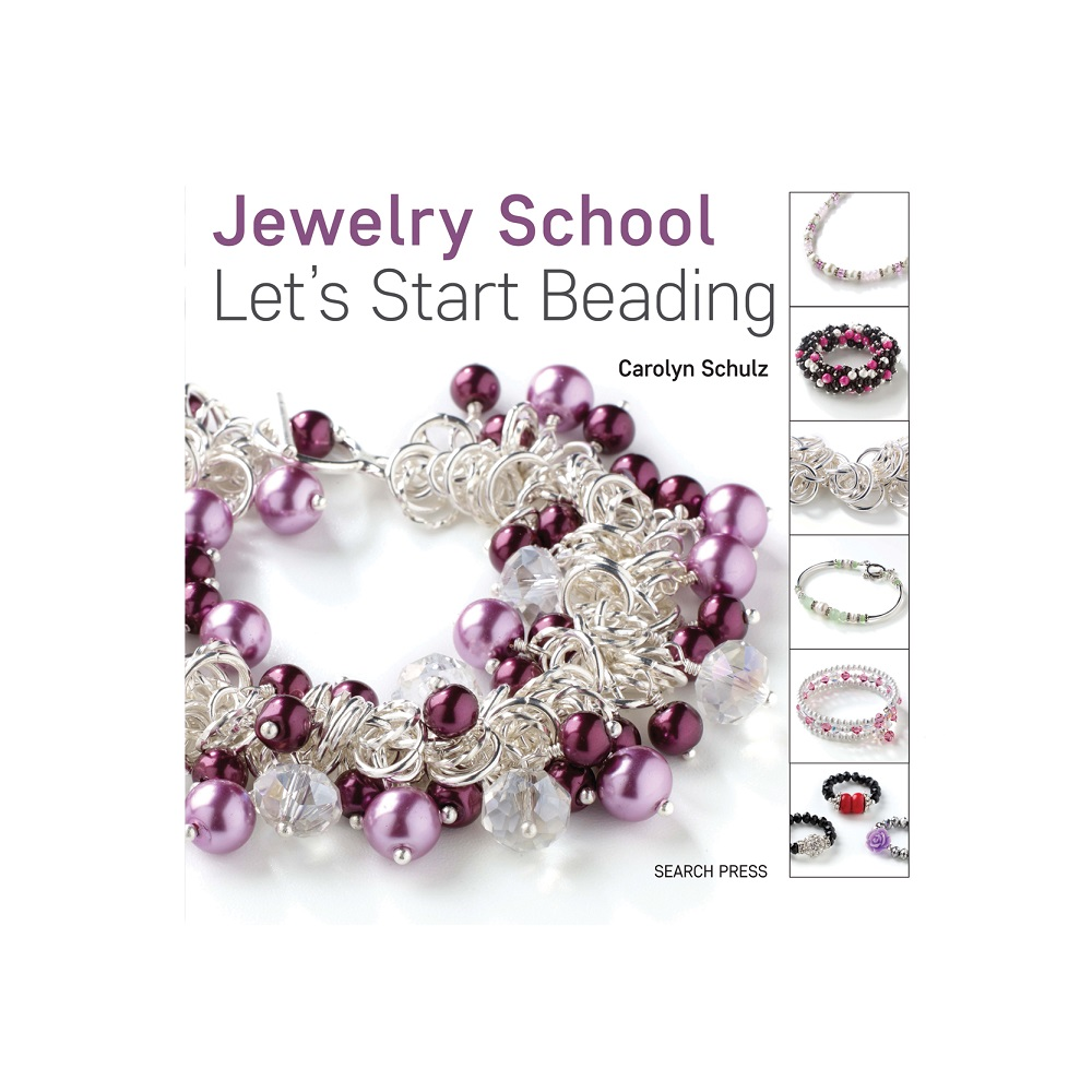 "Raamat ""Jewelry School: Let`s Start Beading"""