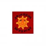 Triigitav Aplikatsioon Päike `Sunshine` 4cm