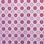 Lilleornamendiga puuvillane kangas, 137cm; 130.497