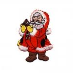 Triigitav Aplikatsioon; Jõuluvana 7,5 x 5,5 cm