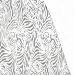 Paks, veniv, reljeefse, puusüüd meenutava mustriga, 110cm