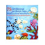 Raamat `75 värvikirevat merekarpi, kala, koralli ja muud mereelukat`