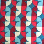 Puuvillane kangas, kirju mustriga 124.399