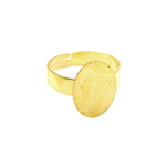 Round Finger Ring Base / 16mm