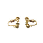 Adjustable Clip On Earring; 2pc / 16 x 13mm