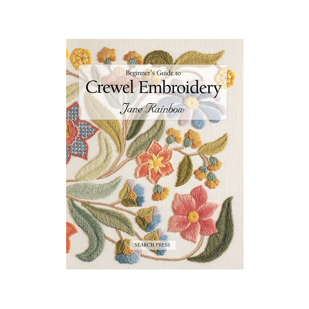 """Raamat """"Beginner`s Guide to Crewel Embroidery"""""""