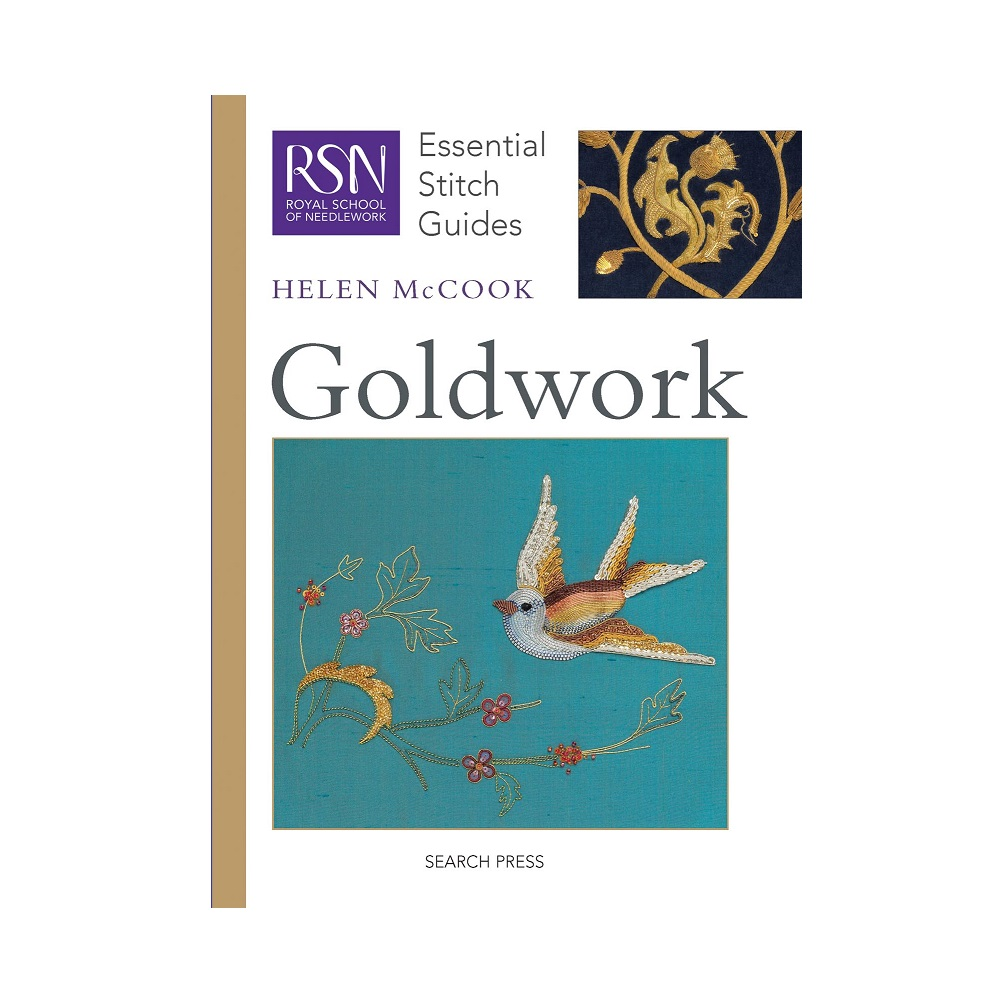 "Raamat ""RSN Essential Stitch Guides: Goldwork"""