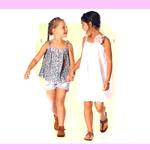 Kleit ja plus 110 - 140cm / Dress & top / Burda 9490