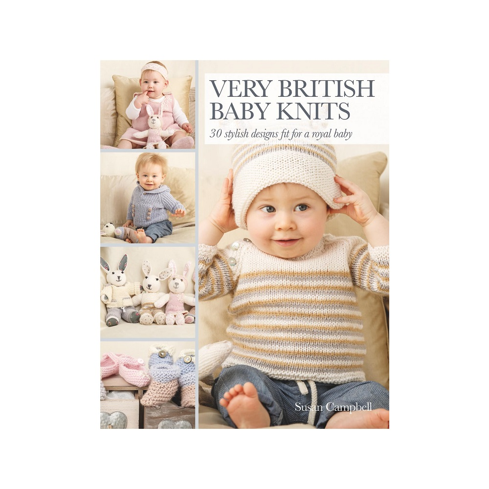 "Raamat ""Very British Baby Knits"""
