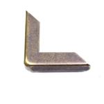 Nurkmised metalldetailid Art.009, mõõdud 31x7mm