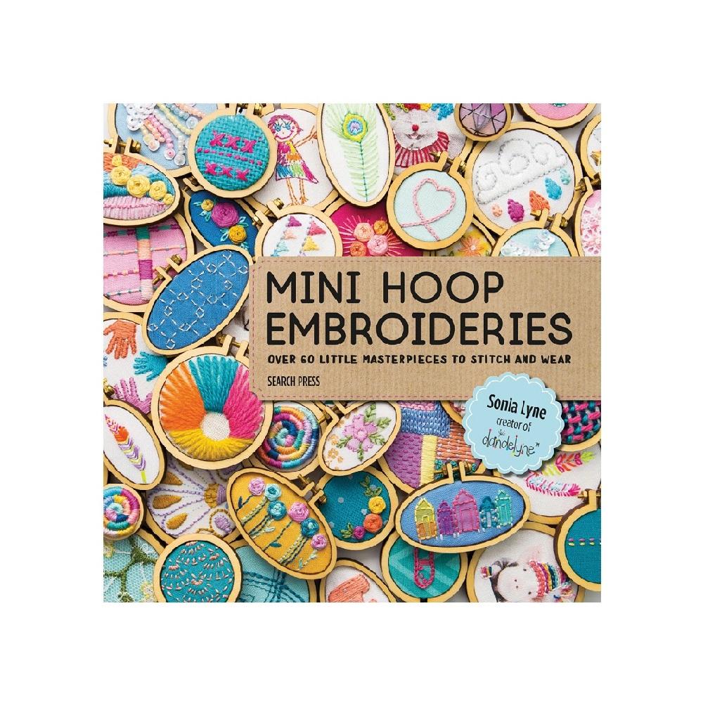 """Raamat """"Mini Hoop Embroideries"""""""