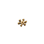 Vahedetail lillekujuline antiikse mustriga, 8mm