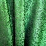 Sissekootud mustriga (jacquard) elegantne kunstsiidist kangas 619249