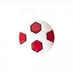 Nööp jalgpall /Plastic Button/ 15mm/24L