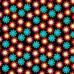 Lillemustriga lükrakangas, Badeanzug bedruckt, 130.046