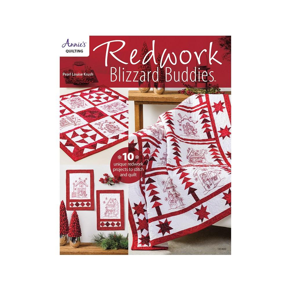 Raamat `Redwork Blizzard Buddies`