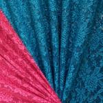 Roosimustriga veniv pitskangas, 145cm, RS0224