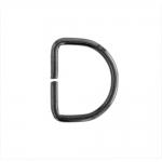 D-ring, half ring 23 mm х 18 mm for tape width 15 mm