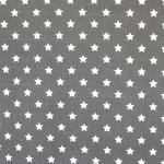 Tähekestega puuvillane kangas (Cotton poplin print, star), 145cm, KC0341