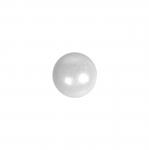Ümar, liimitav, sileda põhjaga plastkristall 6mm