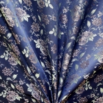 Pidulik, kauni läikega, kerge reljeefse lillemustriga kostüümikangas 619988; 138cm