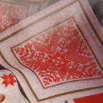 Jõuluteemaline linik Art.040 4503