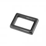 Kandiline rõngakujuline dekoratiivne metallaas 21 mm x 16 mm rihmale (vastavalt kasutussuunale) 10 mm või 15 mm