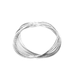 20 Oval Loop Memory Wire / 8 x 6cm / Beadalon (USA)